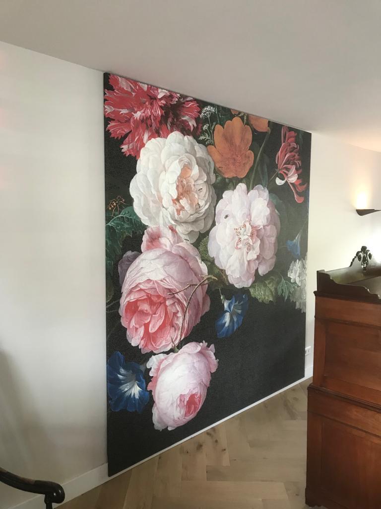 Behang en schilderwerk